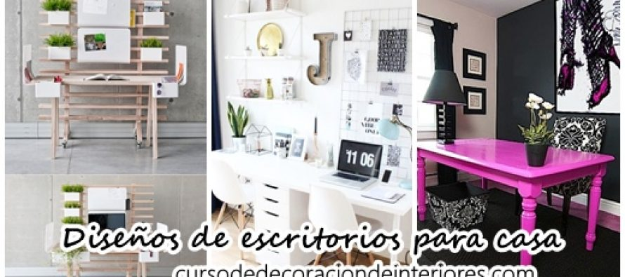 Dise os de escritorios para oficinas en casa decoracion for Escritorios para oficina en casa