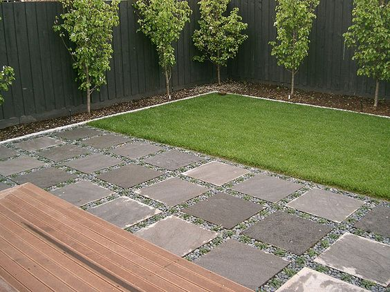 Dise os de pisos para exteriores en general 13 for Pisos de jardines exteriores