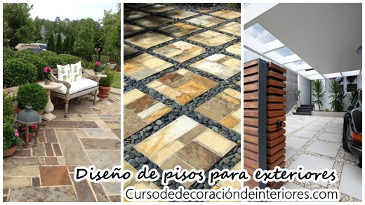 Dise os de pisos para exteriores en general decoracion for Decoracion de pisos exteriores