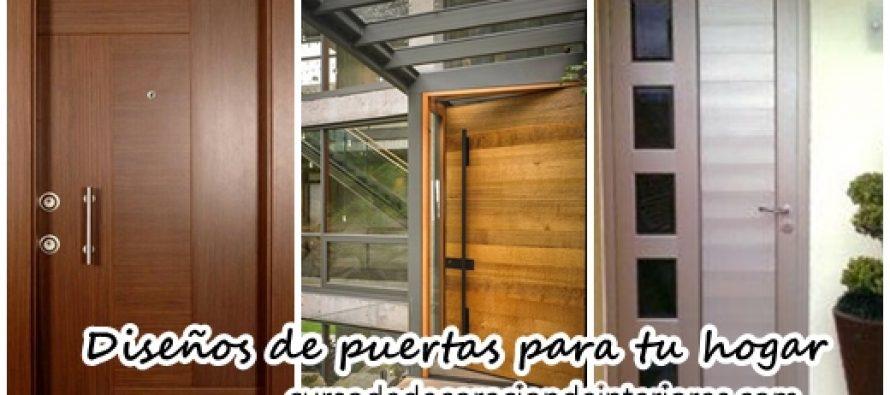 Dise os de puertas para decorar tu hogar decoracion de for Disenos de puertas para interiores