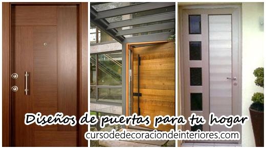 Dise os de puertas para decorar tu hogar curso de for Disenos navidenos para decorar puertas