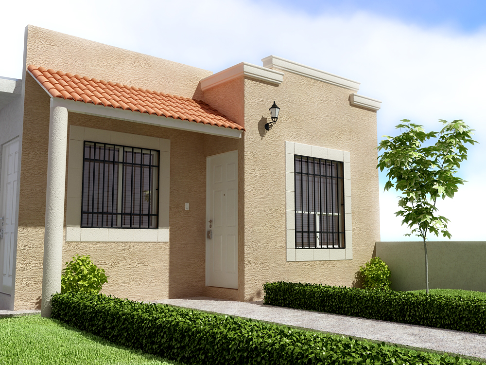 Diseos de casas exteriores fachadas de casas i medium for Exteriores de casas modernas