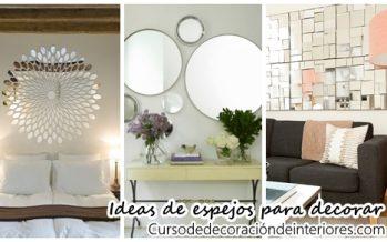 Ideas de espejos para decorar tu casa