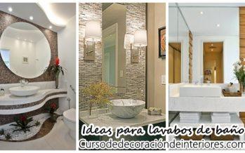 Ideas para baños y lavabos