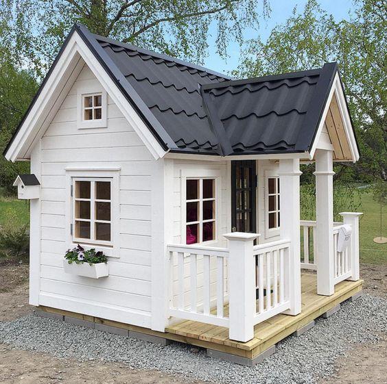 Ideas para construir casas de juegos de madera para ni os for Ideas de casas para construir