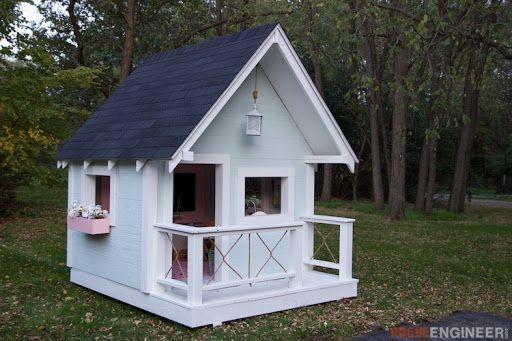 Ideas para construir casas de juegos de madera para ni os - Ideas para hacer una casa ...