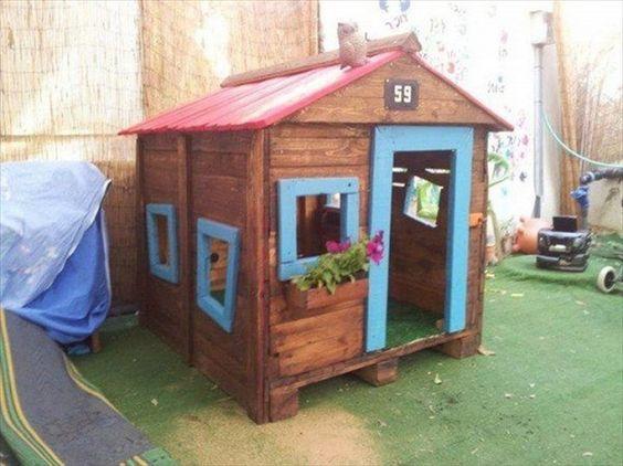 Ideas Para Construir Casas De Juegos De Madera Para Ninos 20