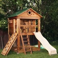 Ideas Para Construir Casas De Juegos De Madera Para Ninos 21