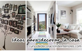 Ideas para decorar la casa