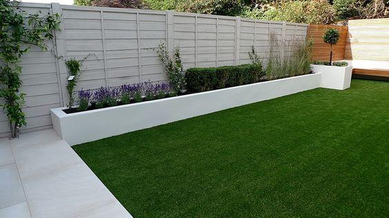 Diseños de jardines sencillos