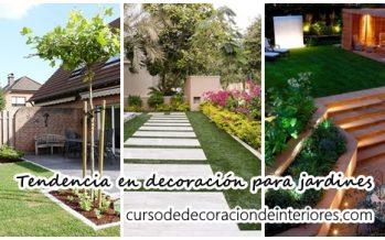 Tendencia en decoración para jardines