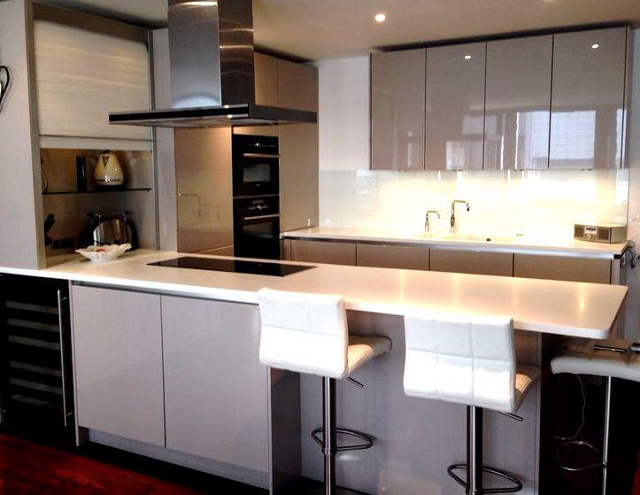 Decoracion de cocinas pequenas y modernas 41 for Decoracion cocinas pequenas modernas