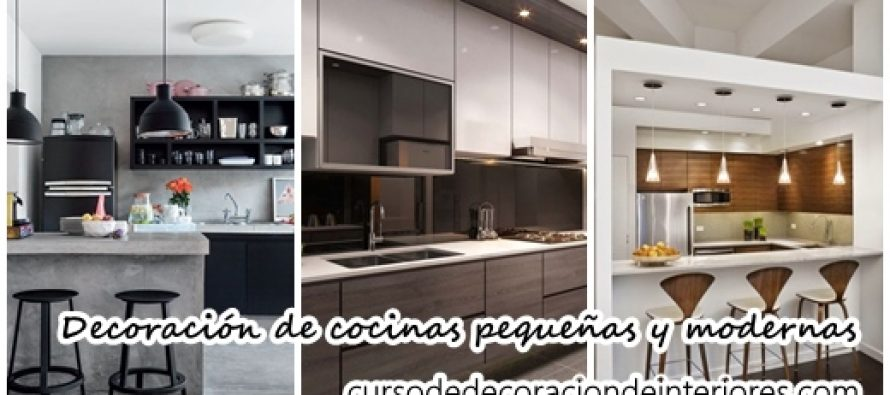 Decoraci n de cocinas peque as y modernas decoracion de - Decoracion cocinas pequenas modernas ...
