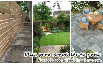 23 sensacionales ideas para remodelar tu patio
