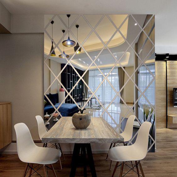 24 Ideas Para Decorar Con Espejos Modernos 7 Curso De Decoracion - Ideas-para-decorar-con-espejos