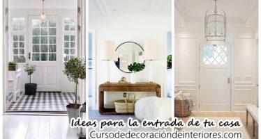 24 ideas que te inspirarán a remodelar la entrada de tu casa