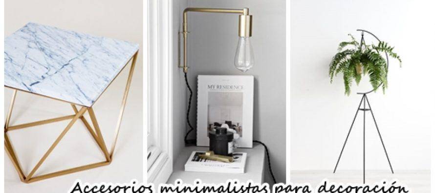 28 accesorios minimalistas para decoraci n de interiores