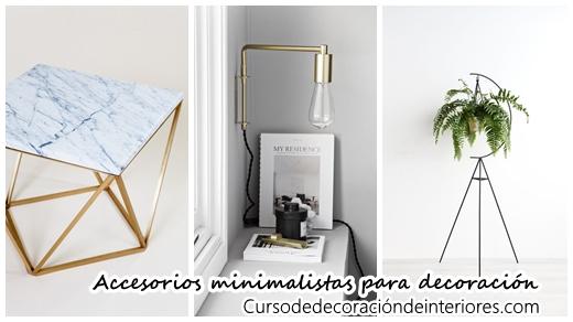 28 accesorios minimalistas para decoraci n de interiores Accesorios para decorar interiores