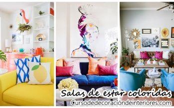 29 increibles salas de estar muy coloridas