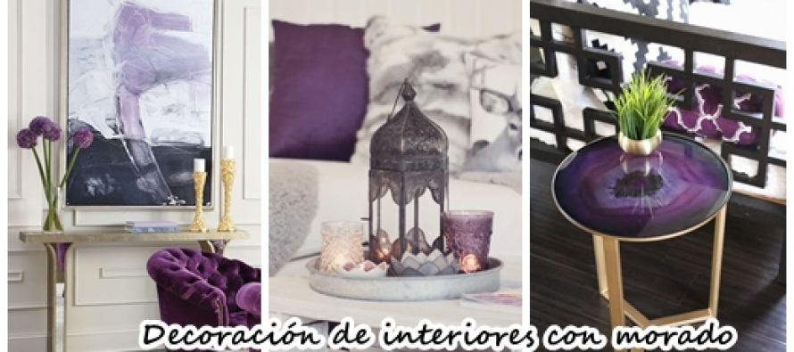 30 ideas para decorar tu casa con el color morado for Ideas para tu casa decoracion