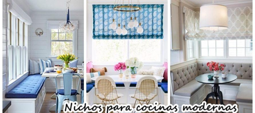 32 encantadores nichos para cocinas modernas