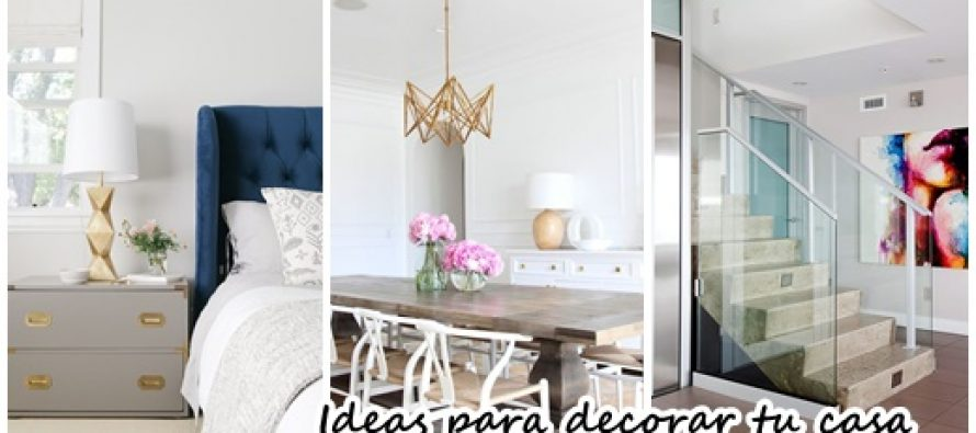35 ideas para la decoraci n de tu hogar decoracion de for Decoracion hogar 2017