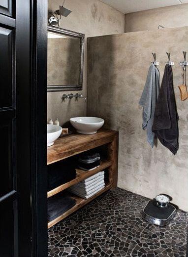 Banos revestidos con cemento pulido 9 curso de decoracion de interiores interiorismo - Banos cemento pulido ...