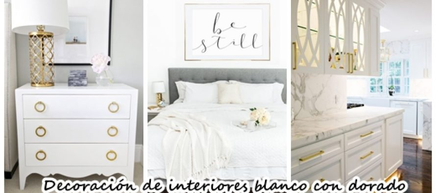 Muebles blanco con dorado 20170816200808 - Decoracion de interiores muebles ...