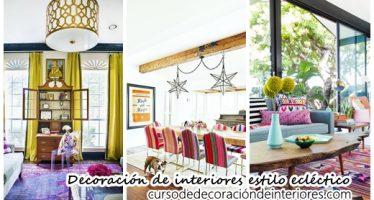 Decoración de interiores para un hogar estilo eclectico