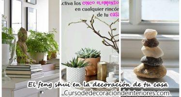 Decoración y feng shui para equilibrar la energía en tu hogar