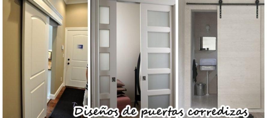 Dise os de puertas corredizas perfectas para casas for Puertas correderas pequenas