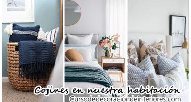 Ideas para decorar con cojines una habitación