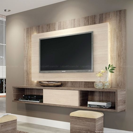 Family Room Design With Tv: Ideas-para-que-el-area-de-tu-tv-se-vea-sensacional (12