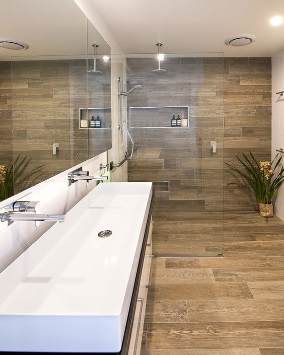 26 disenos de banos con pisos de madera 14 curso de
