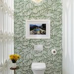 30 Diseños de baños decorados con candelabros