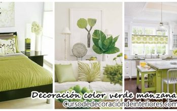 31 Ideas para decorar con verde manzana