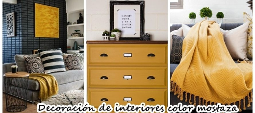 32 ideas para decoraci n de interiores color mostaza for Decoracion de interiores facil y barato
