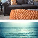 33 Decoraciones para salas de estar en color azul turquesa