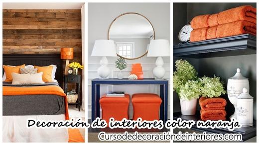 34 ideas para decorar interiores con color naranja - Decoracion con color naranja ...