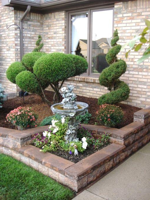35 ideas de decoracion de patios frontales 19 for Arreglos de patios de casas