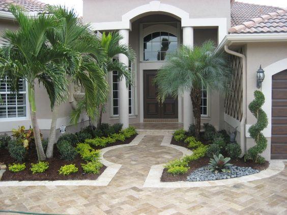 35 ideas de decoracion de patios frontales 2 for Arreglos de patios de casas