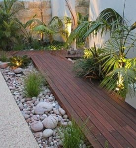 37 Diseños de pisos para decorar tu patio
