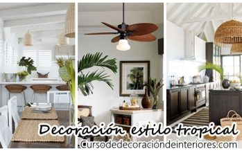 38 Ideas para decorar tu casa estilo tropical