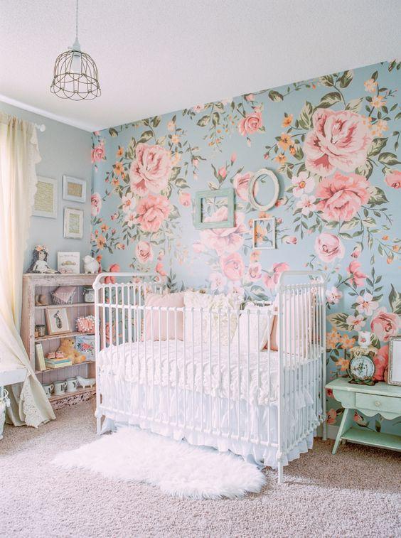 39-ideas-super-tiernas-para-decorar-una-habitacion-para-bebe-nina ...