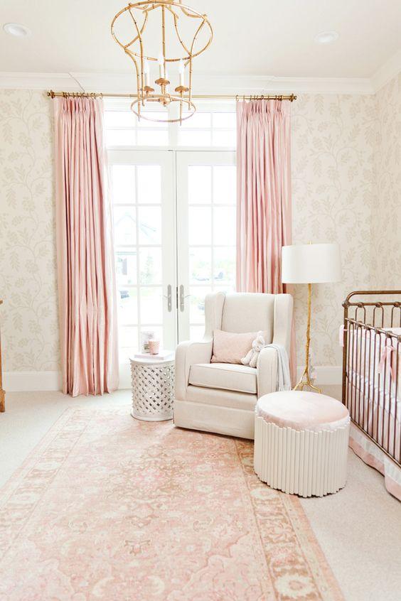 ideas super tiernas para decorar una habitacin para bebe nia dormitorios