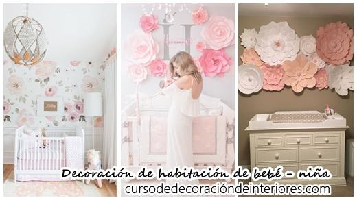 39 ideas super tiernas para decorar una habitaci n para - Decoracion bebe nina ...