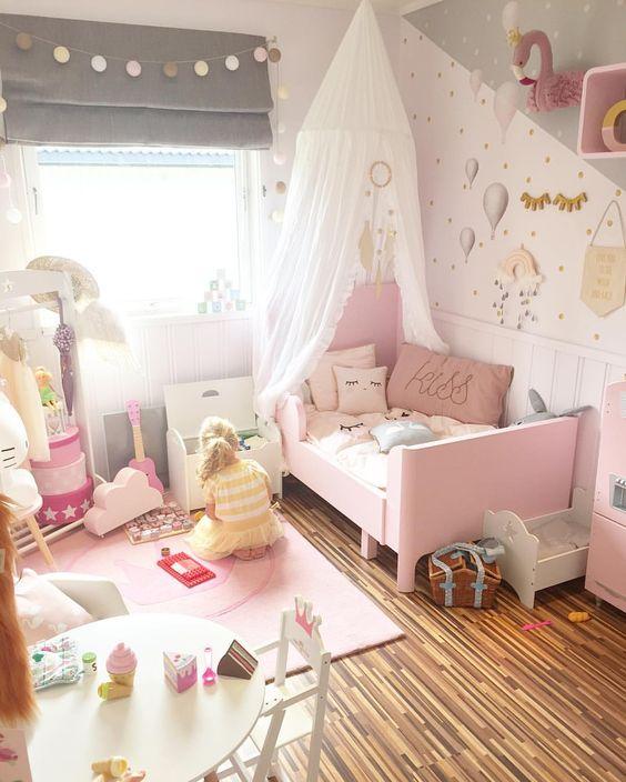 40 ideas lindas para decorar la habitacion de una nina 22 - Ideas para decorar habitacion de nina ...