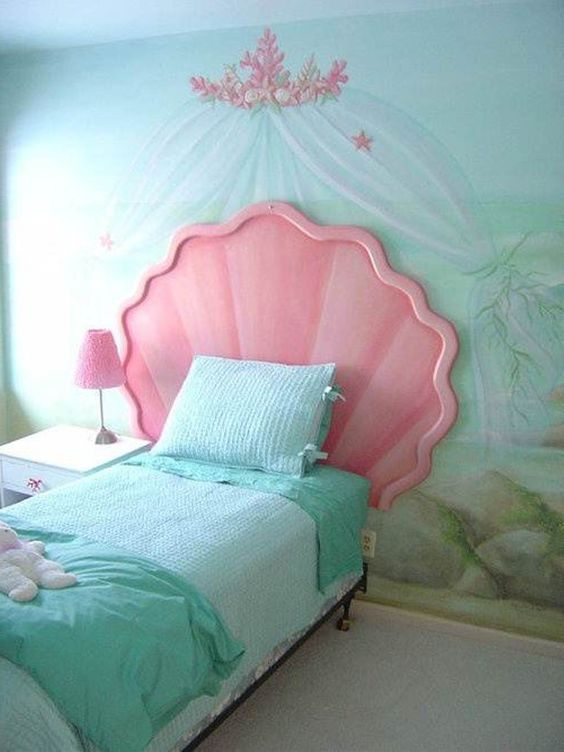 40 ideas lindas para decorar la habitacion de una nina 23 - Ideas para decorar habitacion de nina ...