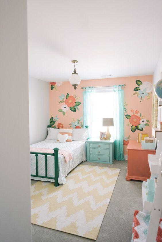 40 ideas lindas para decorar la habitacion de una nina 3 - Ideas para decorar habitacion de nina ...