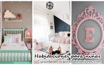 40 ideas lindas para decorar la habitación de una niña
